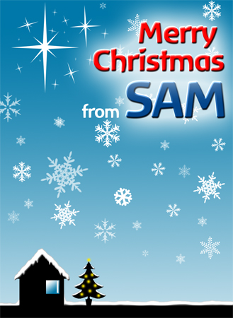 Happy Christmas from SAM