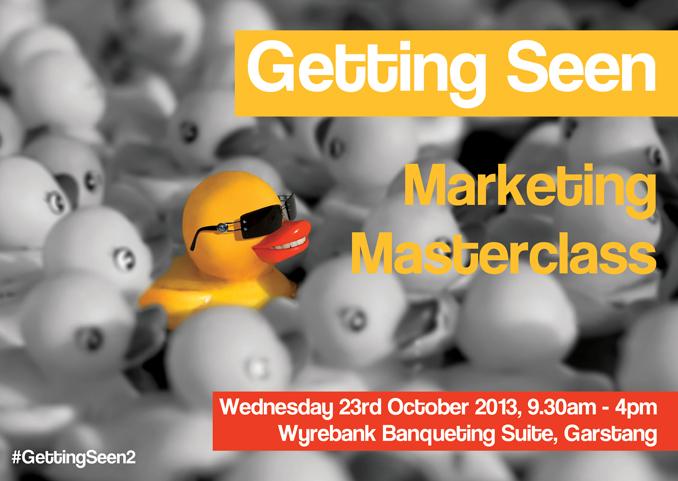 Getting Seen 2 - Marketing Masterclass