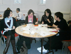 Getting Seen workshop discussion