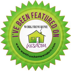 Work from Home Wisdom badge